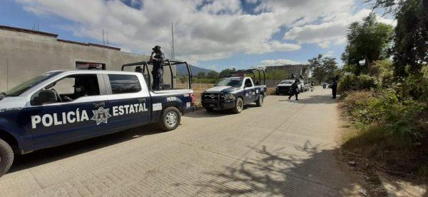 Policía Estatal resguarda Santiago Xochiltepec