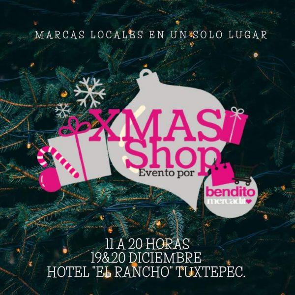 """Realizarán expo de emprendedores """"XMAS SHOP"""" de Bendito Mercadito Tuxtepec"""