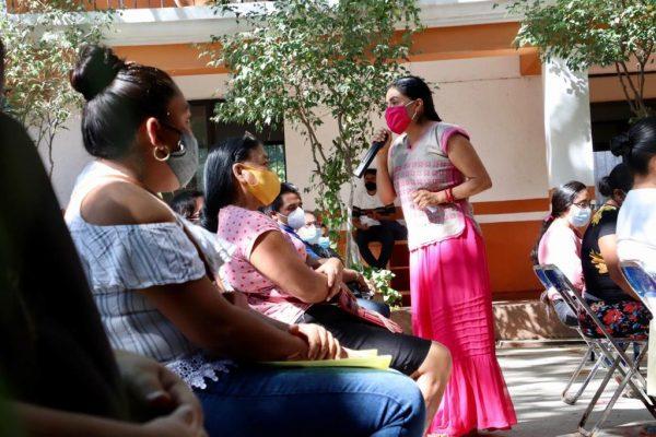 La atención a ras de tierra, permite construir un mejor Oaxaca: Sepia