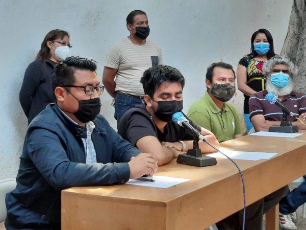 Trabajadores del Museo de Arte Contemporáneo de Oaxaca, demandan pago de salarios