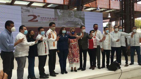 Destacan legisladores federales de Morena, logros en presupuesto para Oaxaca
