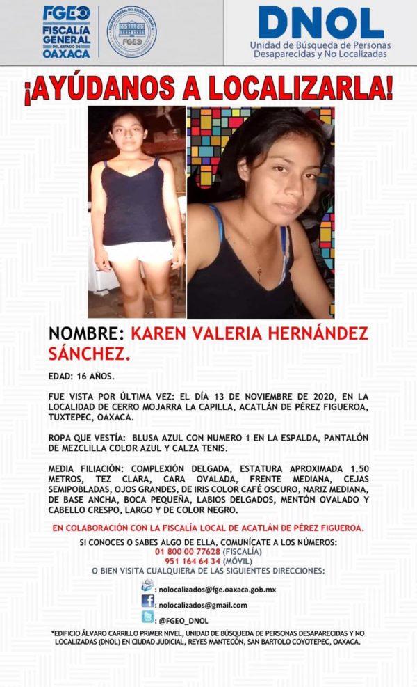 Reportan otra mujer desaparecida en la Cuenca