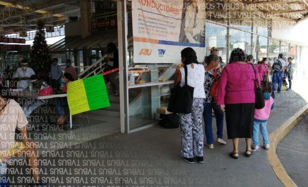 En terminal de Tuxtepec, a través de módulo identificarán a pacientes con síntomas de covid