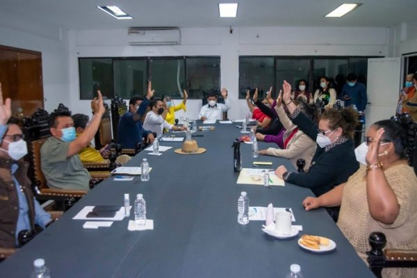 Autoriza Cabildo Casa de Cultura como Recinto Oficial del Informe de Gobierno de Noé Ramírez