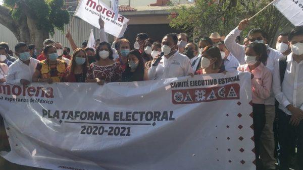 Plataforma electoral de Morena se basa en necesidad del pueblo oaxaqueño: Sesul Bolaños