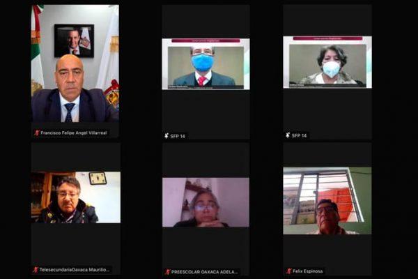 Participa IEEPO en Conversación Magisterial Nacional con la SEP y supervisores escolares