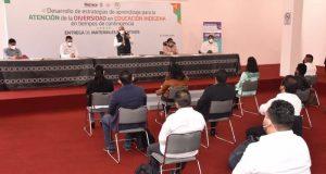 Con inversión de 10.8 mdp fortalece IEEPO acciones a favor de la Educación Indígena