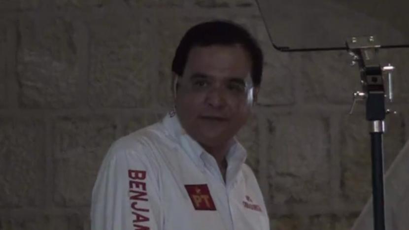 """Reta Benjamín Robles a Salomón Jara a dar respuesta a sus """"decisiones torpes"""""""