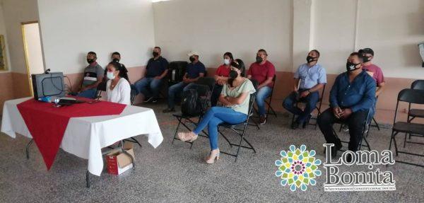 Elementos de la Policía y de la Unidad de Prevención Social del Delito en Loma Bonita, reciben capacitación