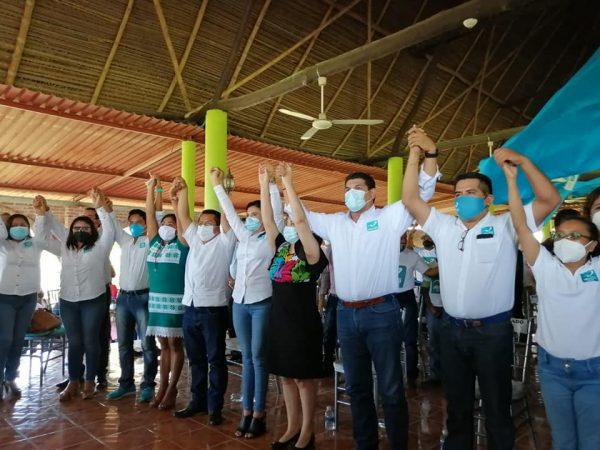 Toma protesta el Comité Municipal de Nueva Alianza en Tuxtepec