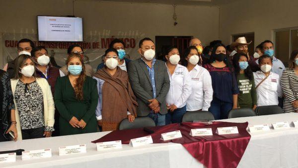 Admite dirigente de Morena en Oaxaca competitividad de coalición PRI PAN PRD