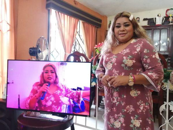 """Sandy Mariscal, la cantante Tuxtepecana presentó su nueva producción """"Tonto Corazón"""""""