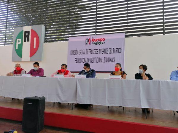 No habrá precampañas para diputaciones locales y presidencias municipales en Oaxaca: PRI
