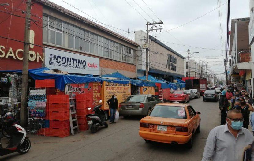 """Pandemia arrasó hasta con el programa """"un día sin ambulantes en Tuxtepec"""""""