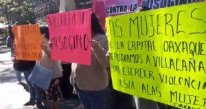 Colectivo de mujeres señala a Javier Villacaña de misoginia y tráfico de influencias