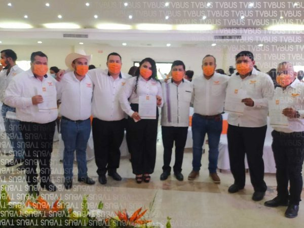 Conforman Comisión Operativa de MC en Tuxtepec; al evento no asistió Marcos Bravo