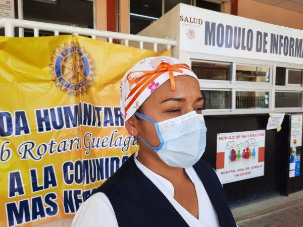 Enfermeros no festejaron su día por la pandemia