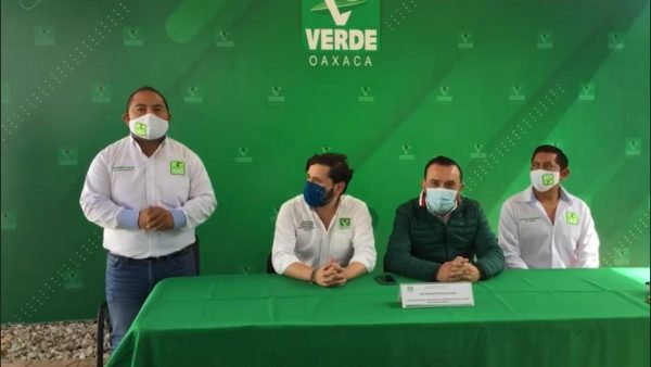 Ex militante de Morena se suma a filas del PVEM, aquí no hay división afirma Estefan Gillesen