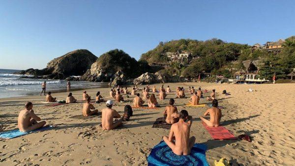 Anuncian festival nudista en Zipolite pese a pandemia por Covid