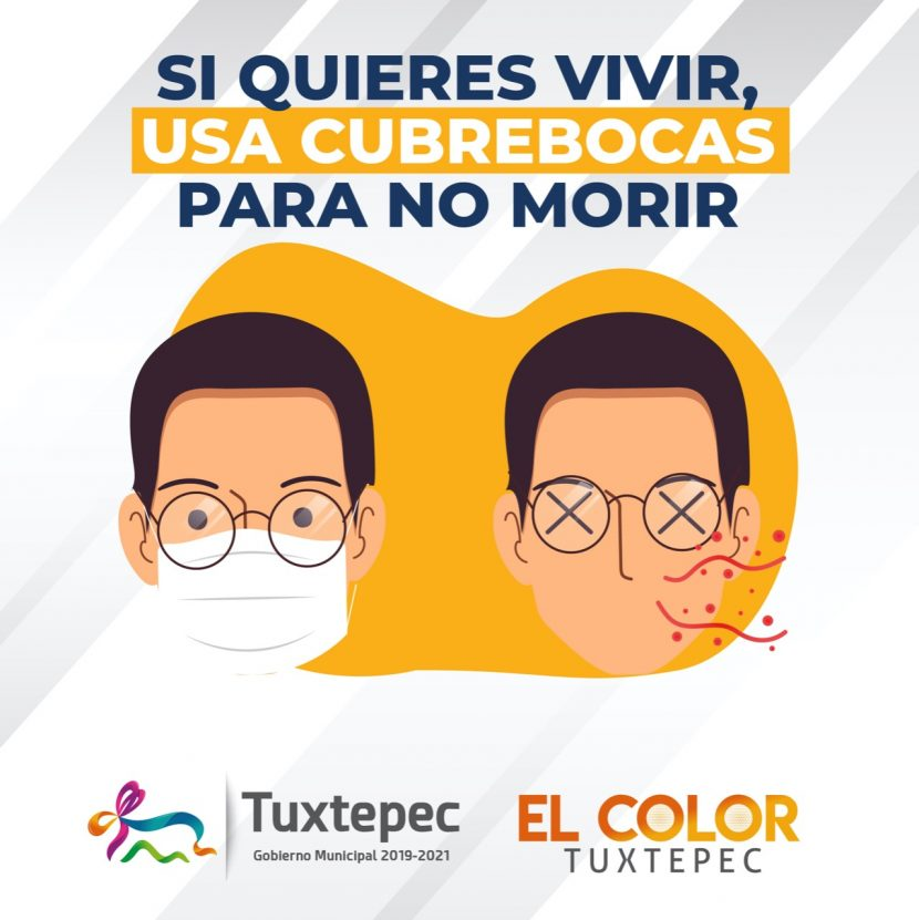Gobierno de Tuxtepec llama a la población a evitar repunte de Covid-19