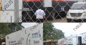 Instalan Hospital Móvil de Terapia Intensiva Avanzada para casos Covid en Tuxtepec