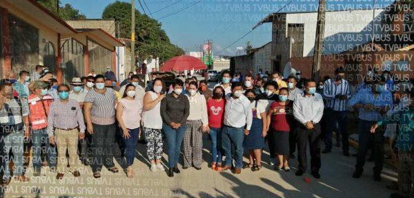 Inauguran en Tuxtepec, obra que el gobierno del estado no realizó
