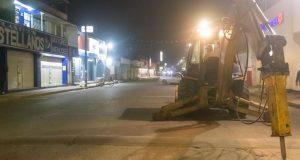 Inicia Obra de Rehabilitación Integral en Avenida Independencia en Tuxtepec