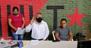 MULT anuncia plantón en el zócalo para cubrir instalación de mesa de paz