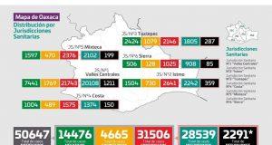 Covid-19 alcanzó a 42 comunidades y más de 100 colonias en Tuxtepec