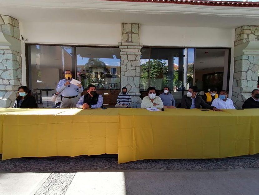 PRD no irá en coalición con el PRI ni con Morena en Oaxaca