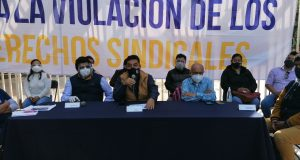 STEUABJO pide revisión de contrato colectivo a Rectoría y Junta Local de Conciliación