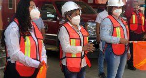 Pavimentación beneficiará a más de 1000 familias: Hilda Luis