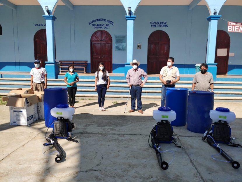 Brote de Covid en Santiago Choapam, 400 personas infectadas