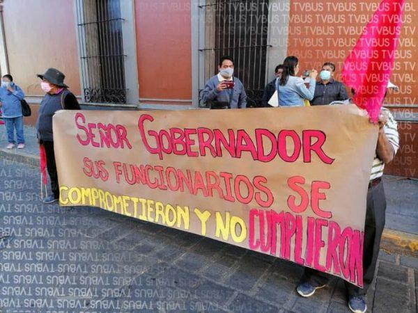 Denuncia Antorcha Campesina, desinterés del gobierno para resolver conflicto entre Yosoñama y Mixtepec