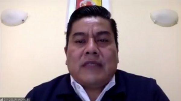 Exhorta Diputado César Morales a Gobernador a declarar a Oaxaca en semáforo rojo