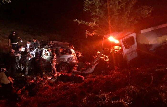 Trágico accidente en Zimatlán dejó 4 muertos y 7 heridos