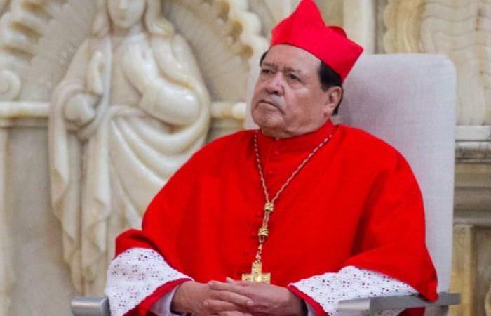 Cardenal Norberto Rivera, es hospitalizado tras dar positivo a covid