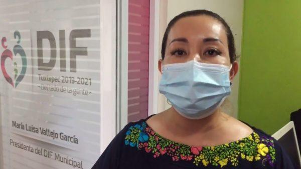 Deja María Luisa Vallejo presidencia del DIF, descarta por el momento buscar la presidencia de Tuxtepec