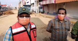 Obra de la Avenida Independencia en Tuxtepec, va en tiempo aseguran autoridades