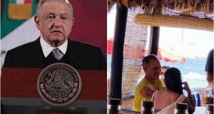 """""""Prefiero que él lo explique"""", dice AMLO sobre fotos de Gatell en Oaxaca"""
