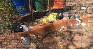 El Parque del amor en Oaxaca, lugar que todos se pelean y que nadie cuida