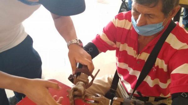 """DIF de Tuxtepec y Club Rotario lanzan campaña """"Te damos una mano""""; regalarán prótesis a discapacitados"""