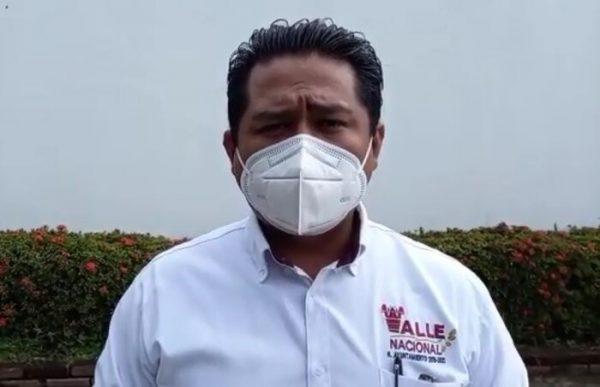 Llama Edil de Valle a enfrentar la pandemia con seriedad, para detener rebrote de covid
