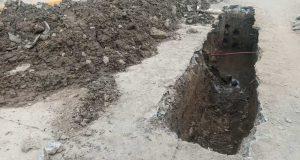"""Colapso de drenaje y fugas de agua, siguen """"hundiendo"""" las calles de Tuxtepec"""