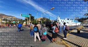 FPR se moviliza en Oaxaca, demandan atención a escuelas dañadas por sismos de 2017