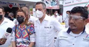Murat Hinojosa promete una vez más la construcción de un hospital nuevo en Tuxtepec