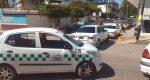 Taxistas bloquean calles de Huajuapan