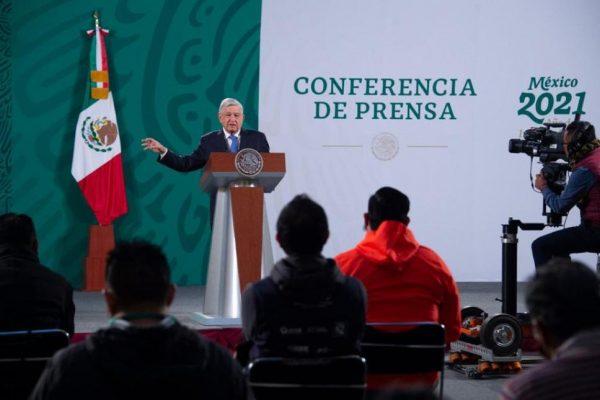 AMLO informará plan de vacunación contra Covid desde Oaxaca
