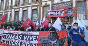 A seis meses de asesinato de Tomás Martínez, no hay justicia denuncia el FPR
