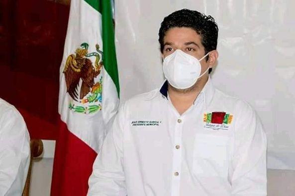 Tras dar positivo  covid, Presidente de Jalapa de Díaz empezará campaña de sanitización